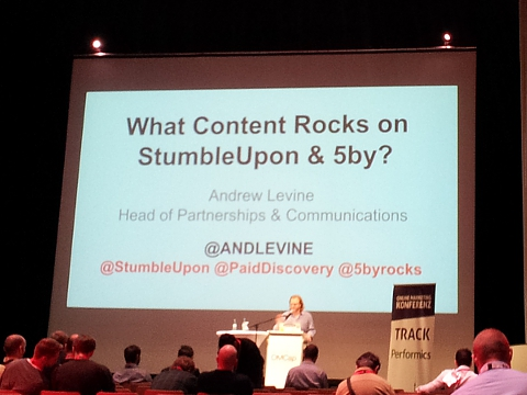 Andrew Levine - StumbleUpon